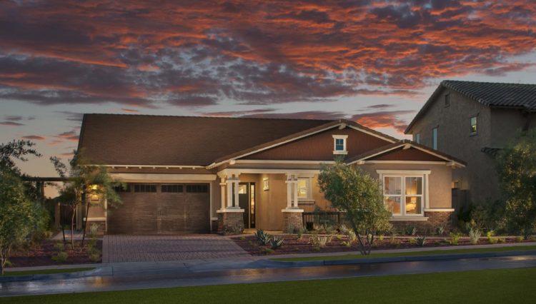 New home built in several Phoenix Arizona area communities